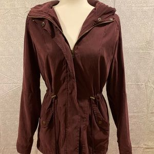 🍁EUC🍁 Jason Maxwell Hooded Anorak Jacket